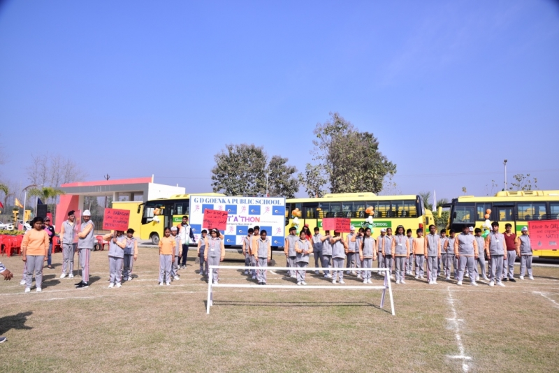 SPORTS DAY 'ZESTATHON'