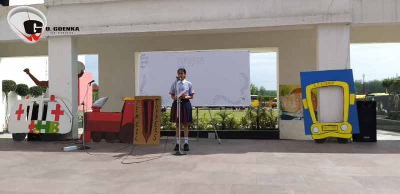 Open-air Elocution activity